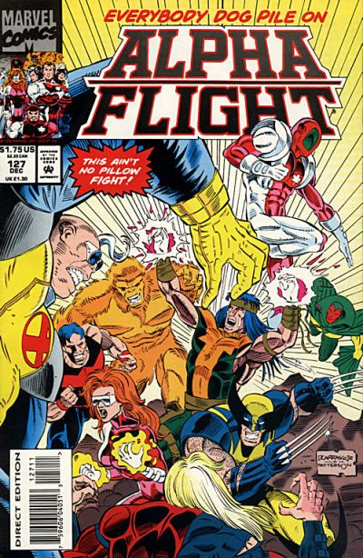 Cover for Alpha Flight (1983 series) #127