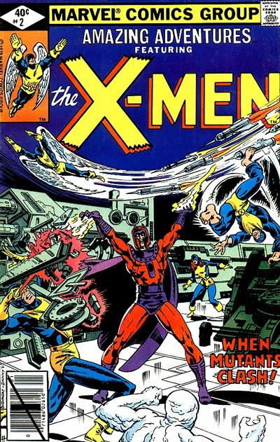 Cover for Amazing Adventures (Marvel, 1979 series) #2
