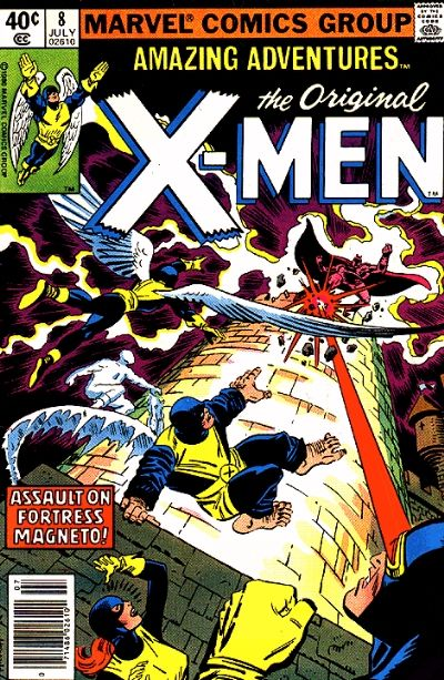 Cover for Amazing Adventures (Marvel, 1979 series) #8