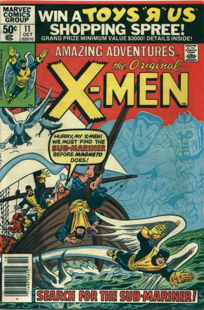 Cover for Amazing Adventures (Marvel, 1979 series) #11