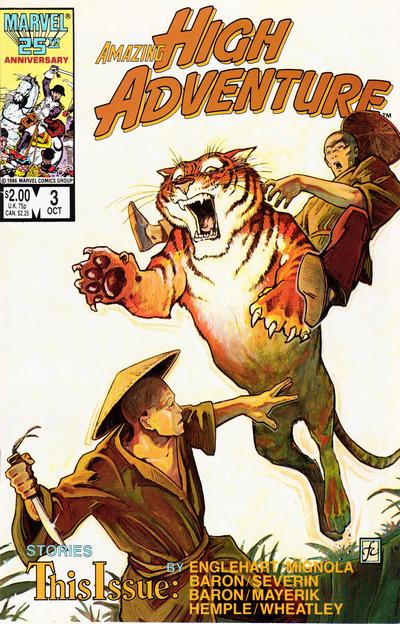 Cover for Amazing High Adventure (Marvel, 1984 series) #3