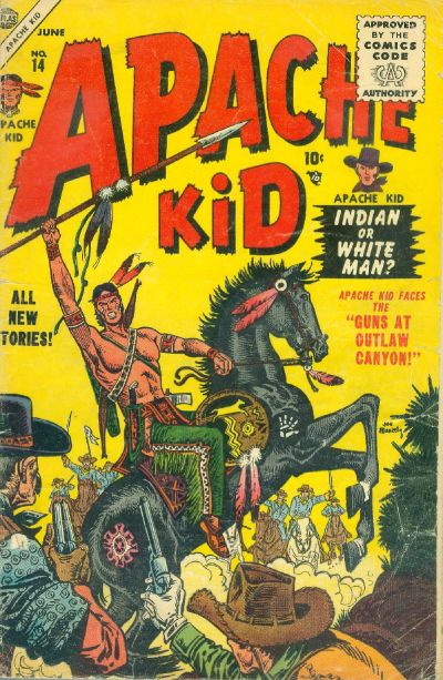 Cover for Apache Kid (Marvel, 1950 series) #14
