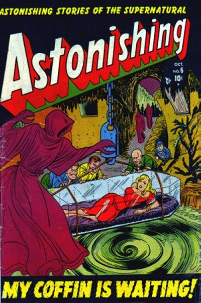 Cover for Astonishing (Marvel, 1951 series) #6
