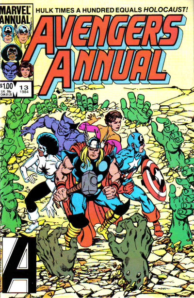 Cover for The Avengers Annual (Marvel, 1967 series) #13 [Canadian Newsstand Edition]