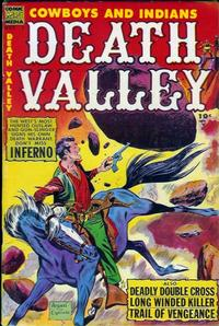 Cover Thumbnail for Death Valley (Comic Media, 1953 series) #1