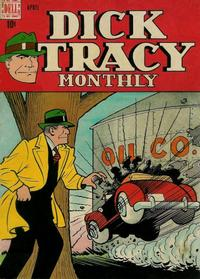 Cover for Dick Tracy Monthly (Dell, 1948 series) #4