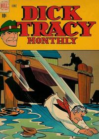 Cover Thumbnail for Dick Tracy Monthly (Dell, 1948 series) #6