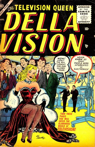 Cover for Della Vision (Marvel, 1955 series) #3