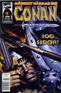 Cover Thumbnail for Conan (Egmont, 1997 series) #6/1998