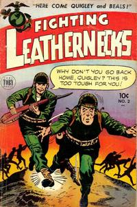 Cover Thumbnail for Fighting Leathernecks (Toby, 1952 series) #2