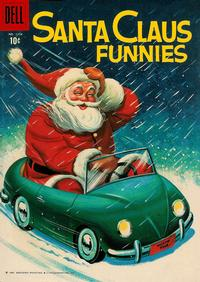 Cover Thumbnail for Four Color (Dell, 1942 series) #1154 - Santa Claus Funnies