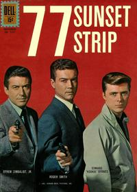 Cover Thumbnail for Four Color (Dell, 1942 series) #1211 - 77 Sunset Strip