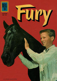 Cover Thumbnail for Four Color (Dell, 1942 series) #1218 - Fury