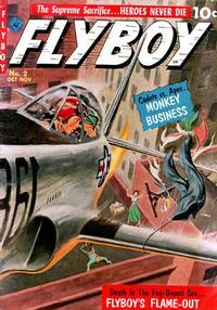 Cover Thumbnail for Flyboy (Ziff-Davis, 1952 series) #2