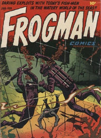 Cover Thumbnail for Frogman Comics (Hillman, 1952 series) #1