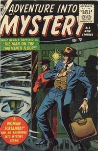 Cover for Adventure Into Mystery (1956 series) #2
