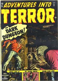 Cover for Adventures Into Terror (1951 series) #9