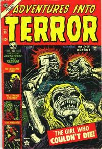 Cover Thumbnail for Adventures Into Terror (Marvel, 1951 series) #19