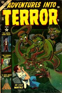 Cover for Adventures Into Terror (1951 series) #25