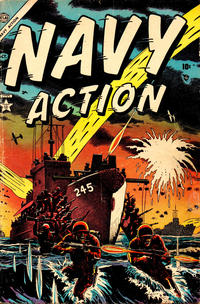 Cover for Navy Action (Marvel, 1954 series) #2
