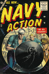 Cover Thumbnail for Navy Action (Marvel, 1954 series) #11