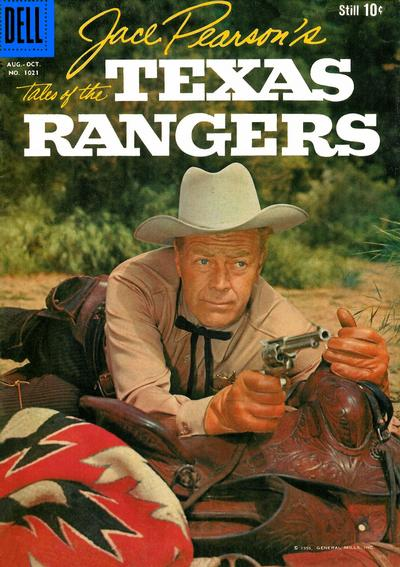Cover for Four Color (Dell, 1942 series) #1021 - Jace Peason's Tales of the Texas Rangers