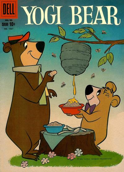 Cover for Four Color (Dell, 1942 series) #1067 - Yogi Bear