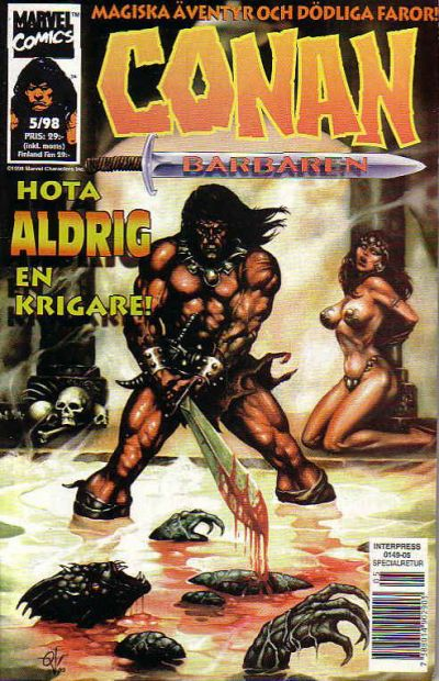 Cover for Conan (Egmont, 1997 series) #5/1998