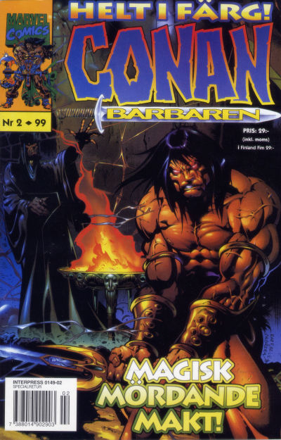 Cover for Conan (1997 series) #2/1999