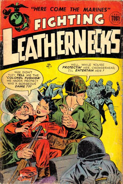Cover for Fighting Leathernecks (1952 series) #3