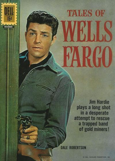 Cover for Four Color (Dell, 1942 series) #1215 - Tales of Wells Fargo