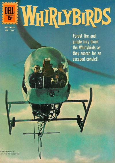 Cover for Four Color (Dell, 1942 series) #1216 - Whirlybirds
