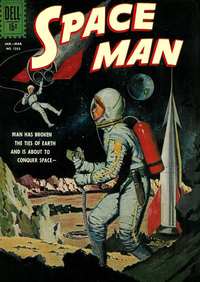 Cover for Four Color (Dell, 1942 series) #1253 - Space Man