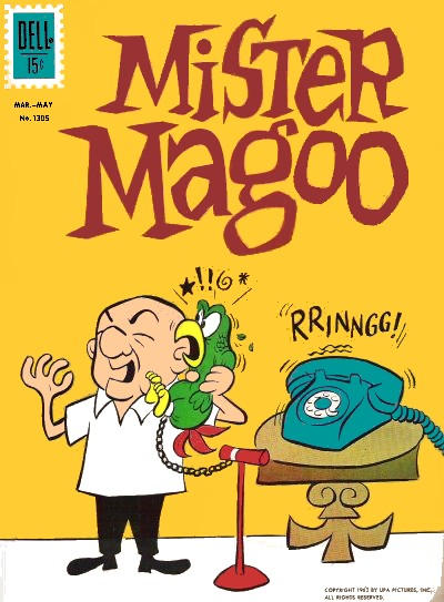 Cover for Four Color (Dell, 1942 series) #1305 - Mister Magoo