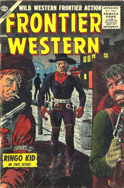 Cover for Frontier Western (Marvel, 1956 series) #4