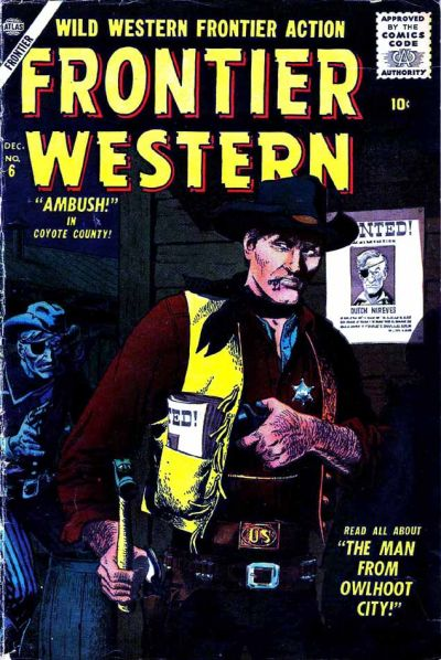 Cover for Frontier Western (Marvel, 1956 series) #6