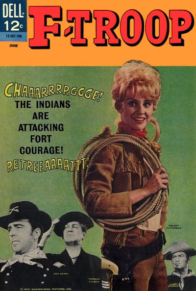 Cover for F-Troop (Dell, 1966 series) #6