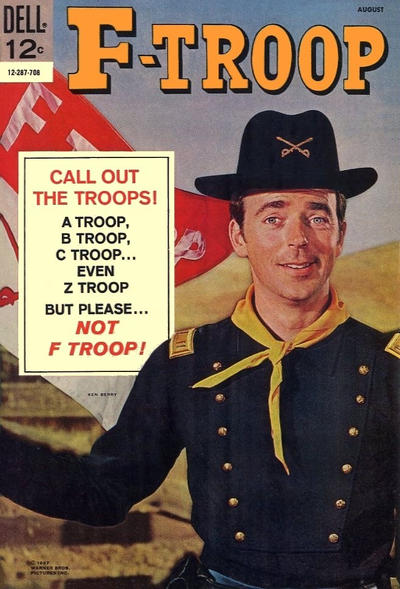 Cover for F-Troop (Dell, 1966 series) #7