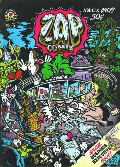 Cover for Zap Comix (The Print Mint Inc, 1969 series) #5
