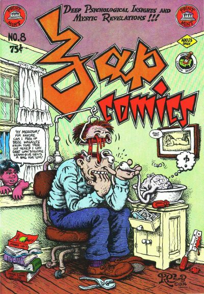Cover for Zap Comix (The Print Mint Inc, 1969 series) #8