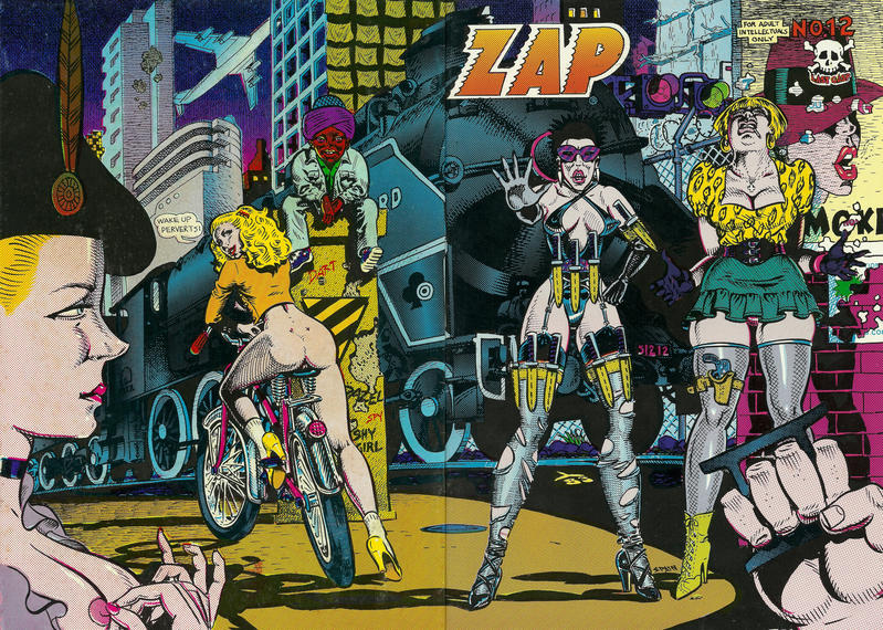 Cover for Zap Comix (Last Gasp, 1982 ? series) #12