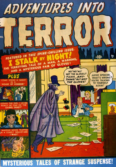 Cover for Adventures Into Terror (1951 series) #3