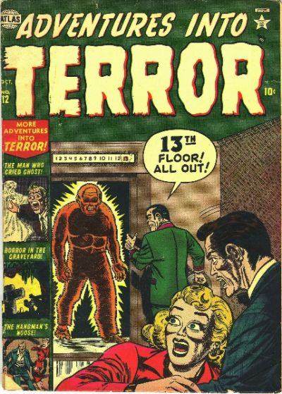 Cover for Adventures into Terror (Marvel, 1951 series) #12