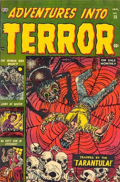 Cover for Adventures into Terror (Marvel, 1951 series) #15