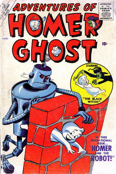 Cover for Adventures of Homer Ghost (Marvel, 1957 series) #2