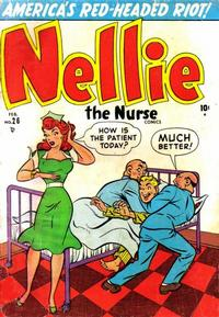 Cover Thumbnail for Nellie the Nurse (Marvel, 1945 series) #26