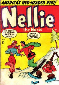 Cover Thumbnail for Nellie the Nurse (Marvel, 1945 series) #27