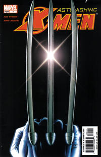 Cover Thumbnail for Astonishing X-Men (Marvel, 2004 series) #1 [Claws Cover]
