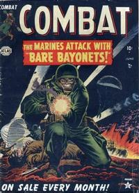 Cover Thumbnail for Combat (Marvel, 1952 series) #1