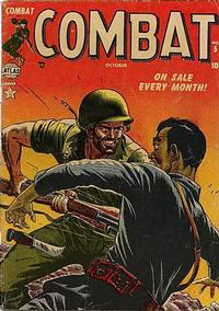 Cover Thumbnail for Combat (Marvel, 1952 series) #5